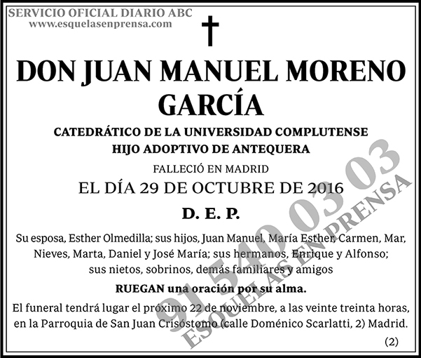 Juan Manuel Moreno García